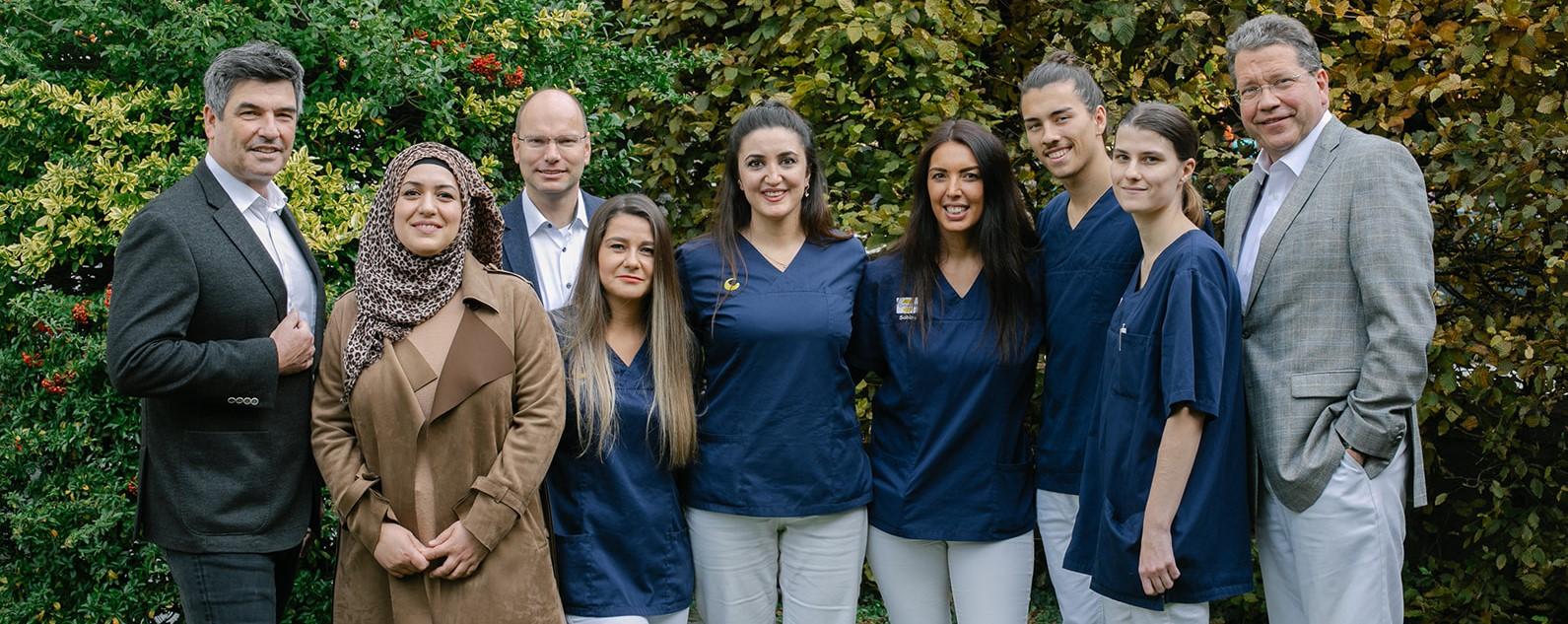 Team der Gemeinschaftspraxis Ortho-M